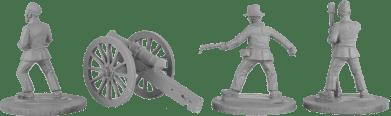 28mm Boxer Rebellion Allied Artillery 2