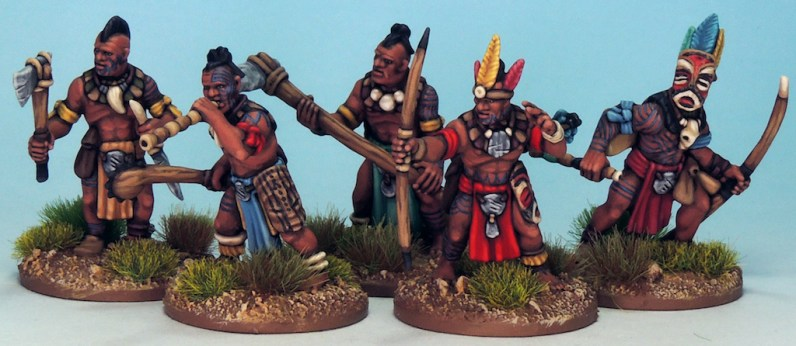 28mm Tribal Warriors 7
