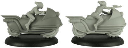 Cold War Miniatures - Neo Futura Bikers 6