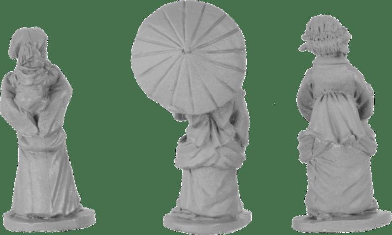 Dixon Minis - Japanese Civilians 2
