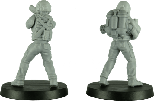28mm Modern Female Soldiers 1