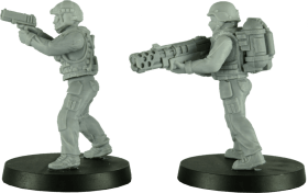 28mm Modern Female Soldiers 2