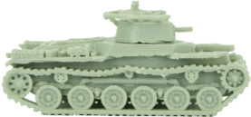 Paint and Glue Miniatures - WWII Vehicles 6