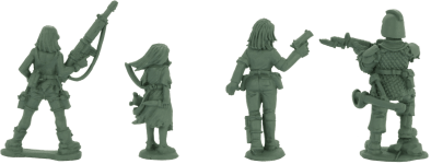 28mm Aftermath Post-Apocalyptic Miniatures 1