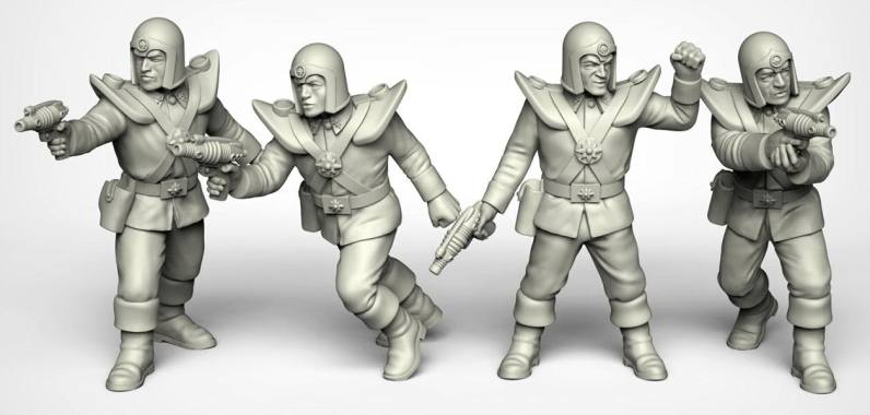 Crooked Dice Design Studio –Coming Soon: 28mm Retro Sci-fi 0