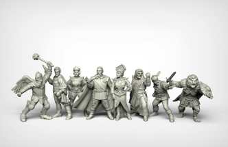 Crooked Dice Design Studio –Coming Soon: 28mm Retro Sci-fi 10