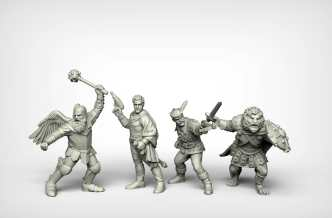 Crooked Dice Design Studio –Coming Soon: 28mm Retro Sci-fi 9