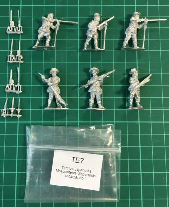 TE7 - Musketeers firing & loading I