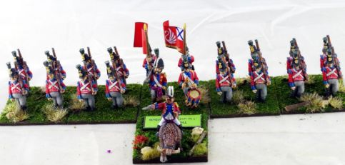 OZZ-205 Quadling Infantry Regiment with Command - Northern Province