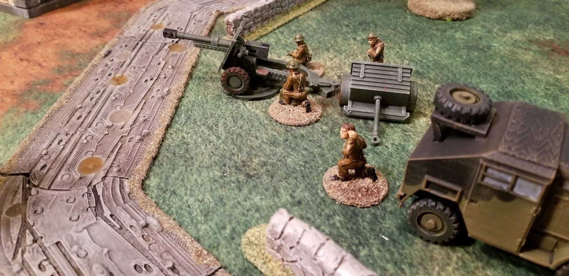 British 25 pounder Field Gun - Wargaming3D