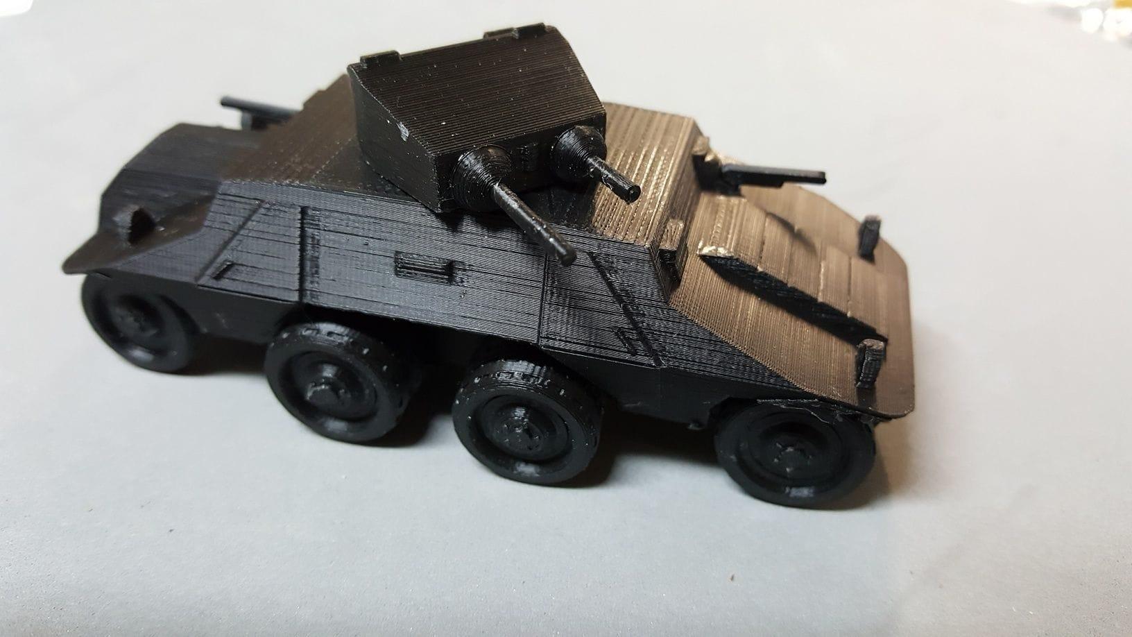 Steyr ADGZ Armoured Car - Wargaming3D