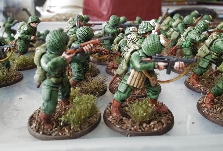 Speed Painting WWII Infantry with Citadel Contrast Paints
