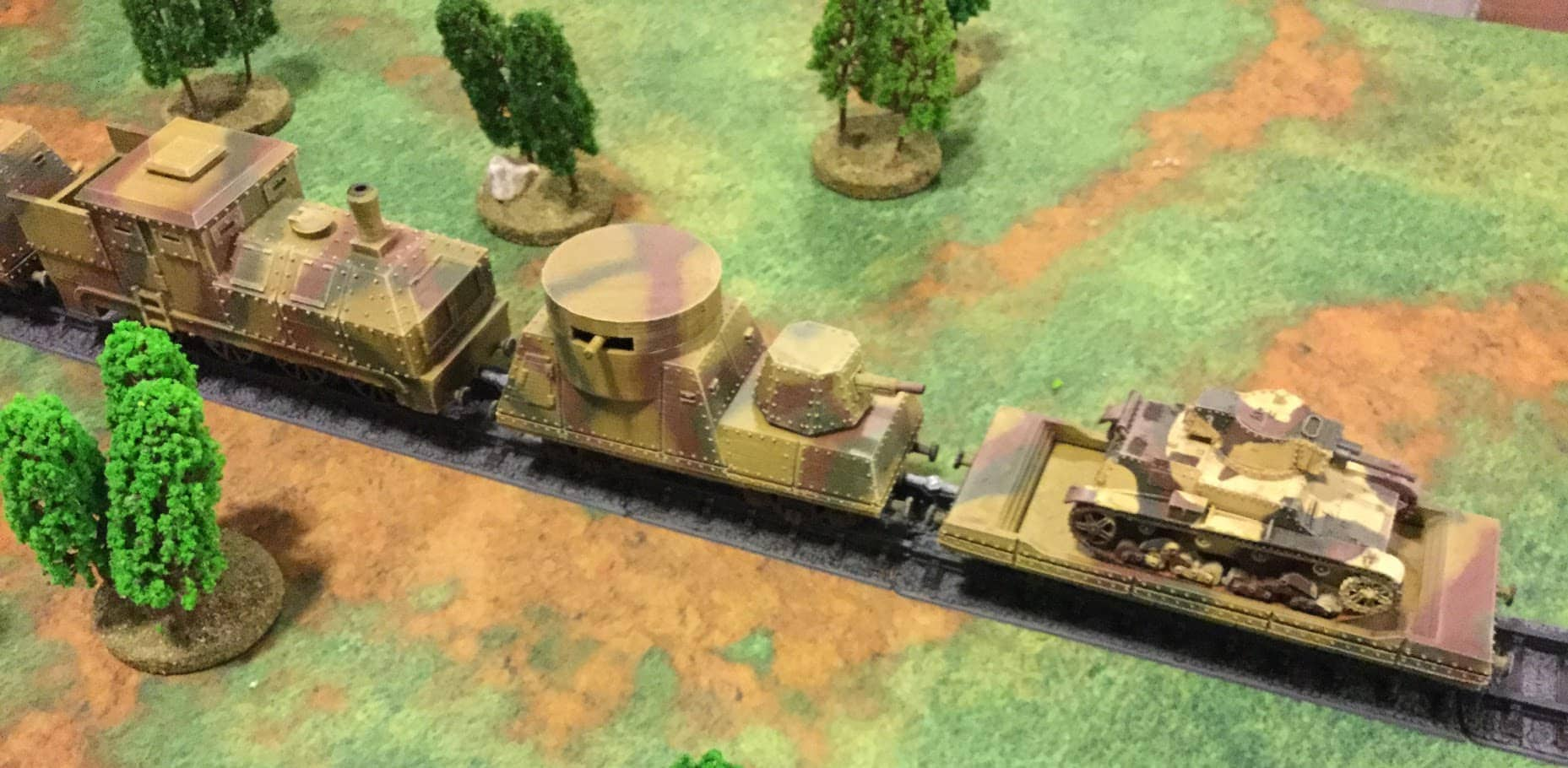 Bolt Action Chain of Command 28mm 1 Armoured Train Wagon or a Locomotive