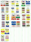 AWI Flag Sets #1-7 (All sizes)