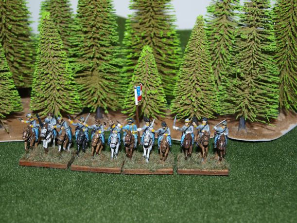 Stone Mountain Miniatures 15mm Confederate Cavalry