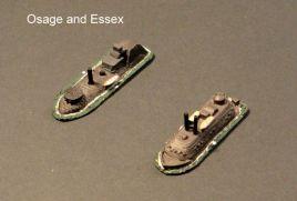 HSS41 USS Essex; HSS43 USS Osage