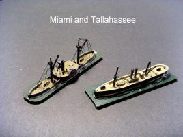 HSS51 USS Miami; HSS72 CSS Tallahassee