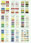 Napoleonic Flag Sets #10-18 (All sizes)