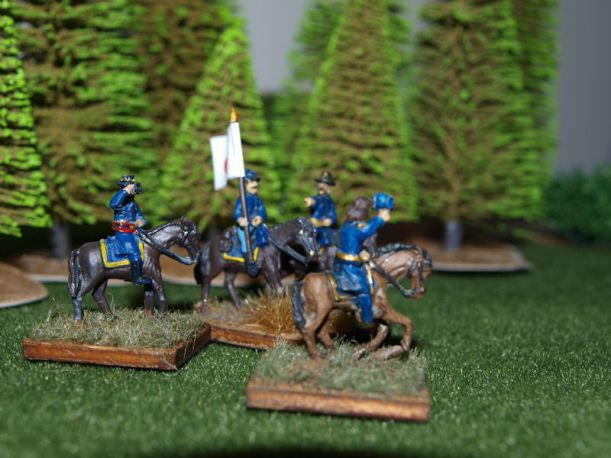 Stone Mountain Miniatures 15mm Mounted Union Command