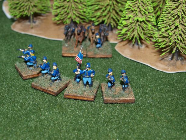 Stone Mountain Miniatures 15mm Dismounted Union Cavalry