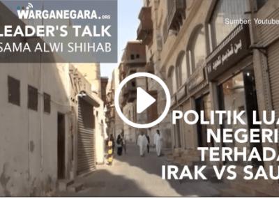 Politik Luar Negeri Bebas Aktif RI terhadap Iran & Saudi Arabia