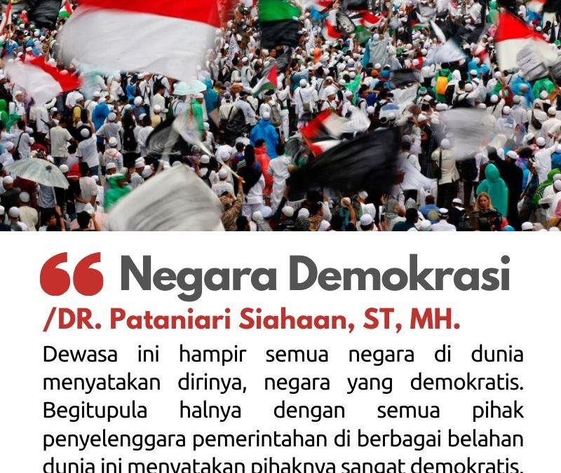 Negara Demokrasi