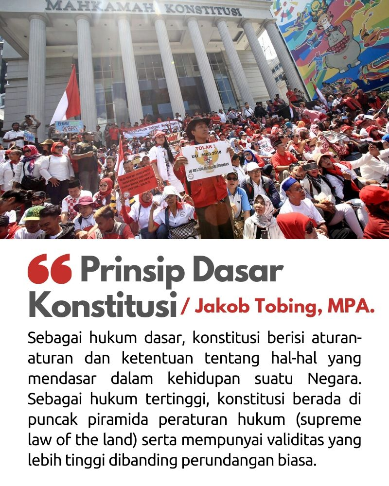 Prinsip Dasar Konstitusi