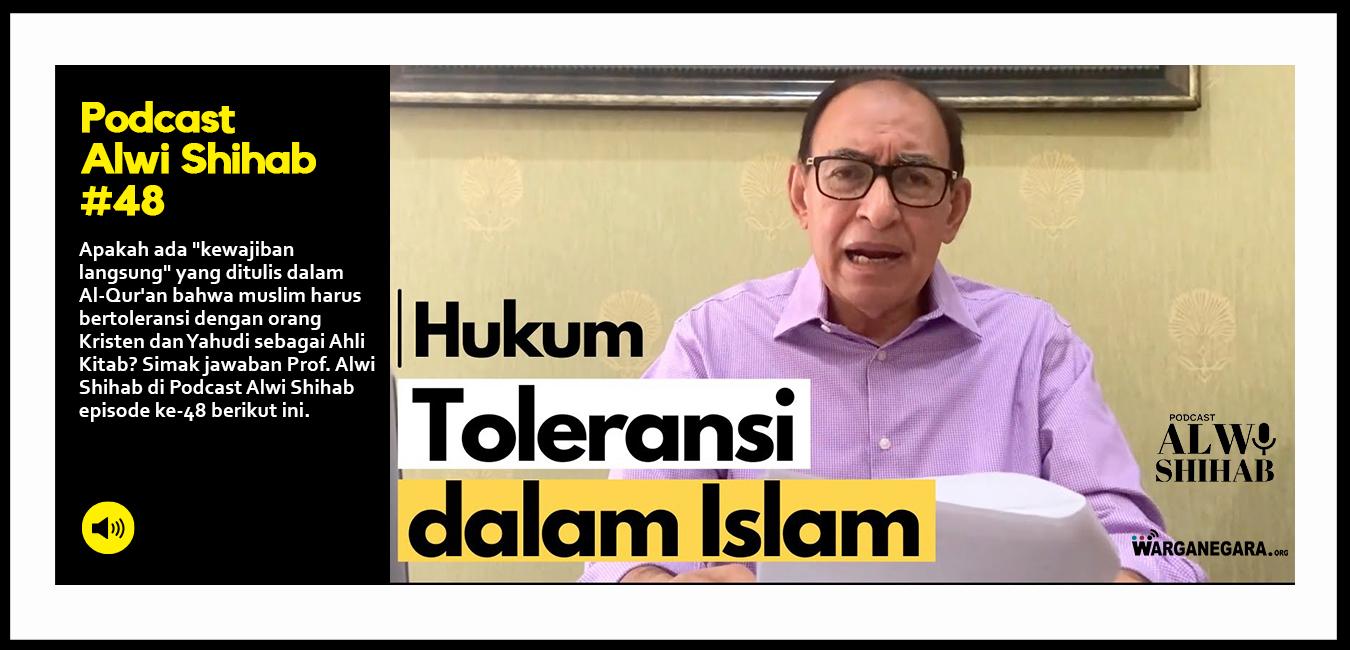 Hukum Toleransi dalam Islam