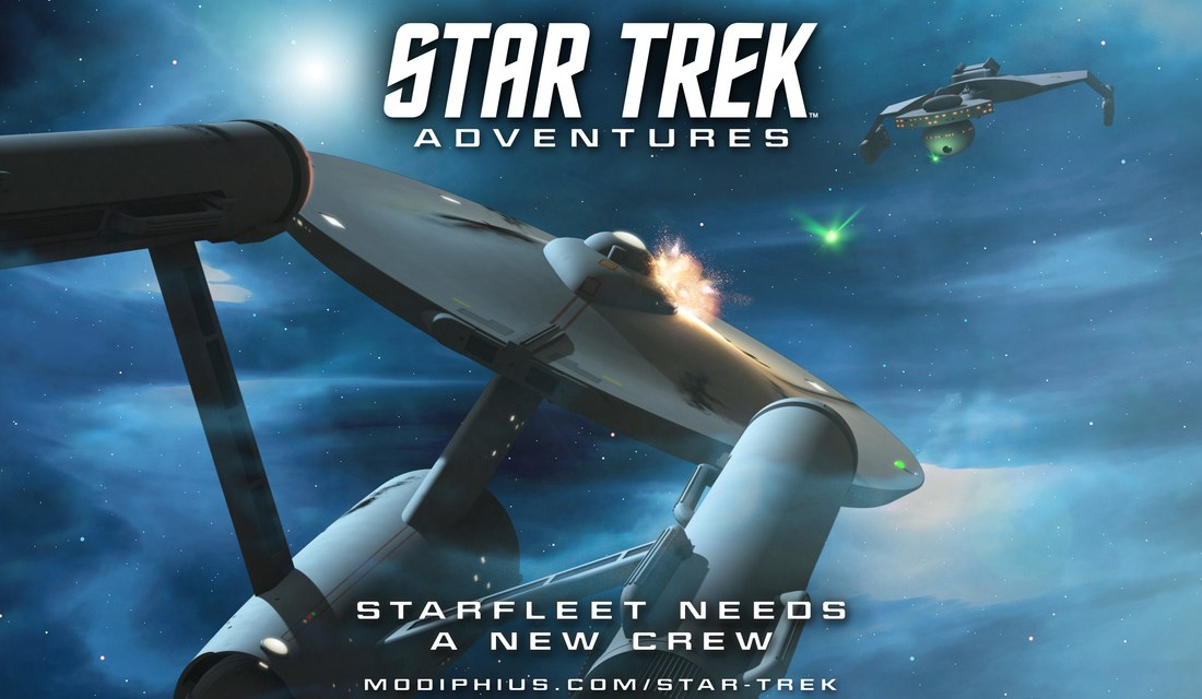 Star Trek Adventures RPG Look, setting and content Review