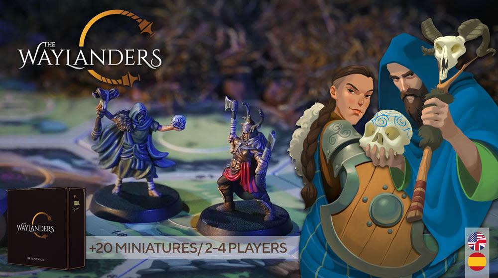 The Waylanders The Board Game in Kickstarter