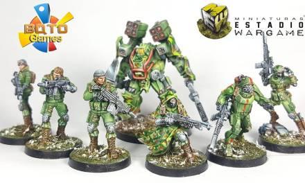 Infinity Operation: Coldfront  Reseña y análisis del Tartary Army Corps TAK de Ariadna (+estrategias)