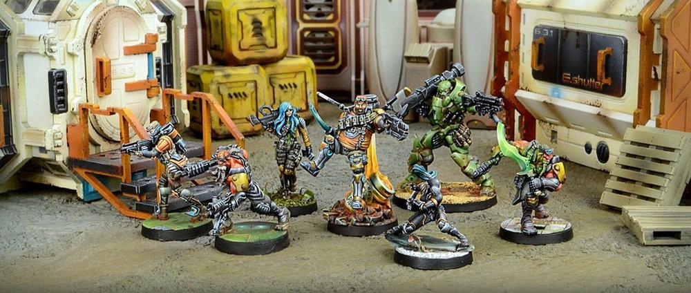 Muestra del Ejército Ikari Company, Infinity Juego de miniaturas