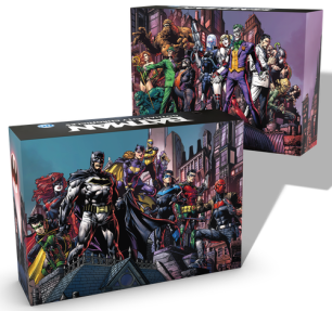 Batman: Gotham Chronicles basic boxes