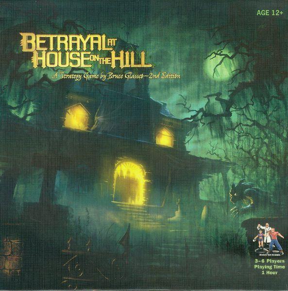 Portada de Betrayal at House on the Hill