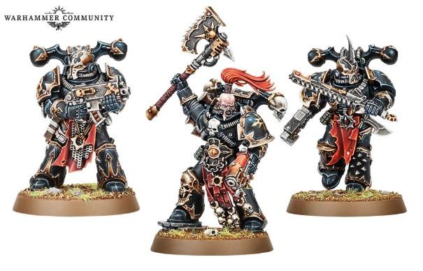 Nuevos Chaos Marines