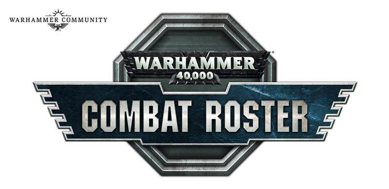 Warhammer 40,000 Combat Roster Logo