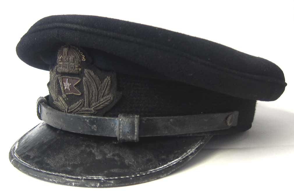 Titanic Officers Cap White Star Line