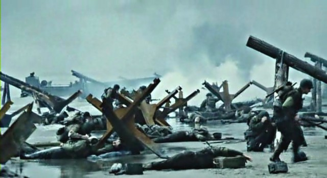 War is Hell: Still from Saving Private Ryan