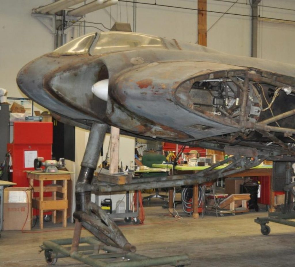 restoring-the-horten-229-v3-flying-wing-25