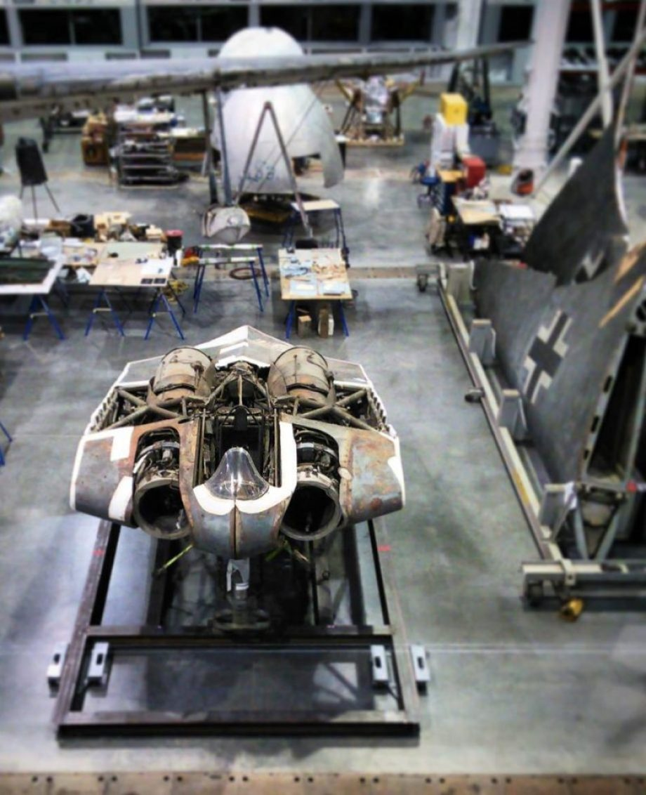 restoring-the-horten-229-v3-flying-wing-33