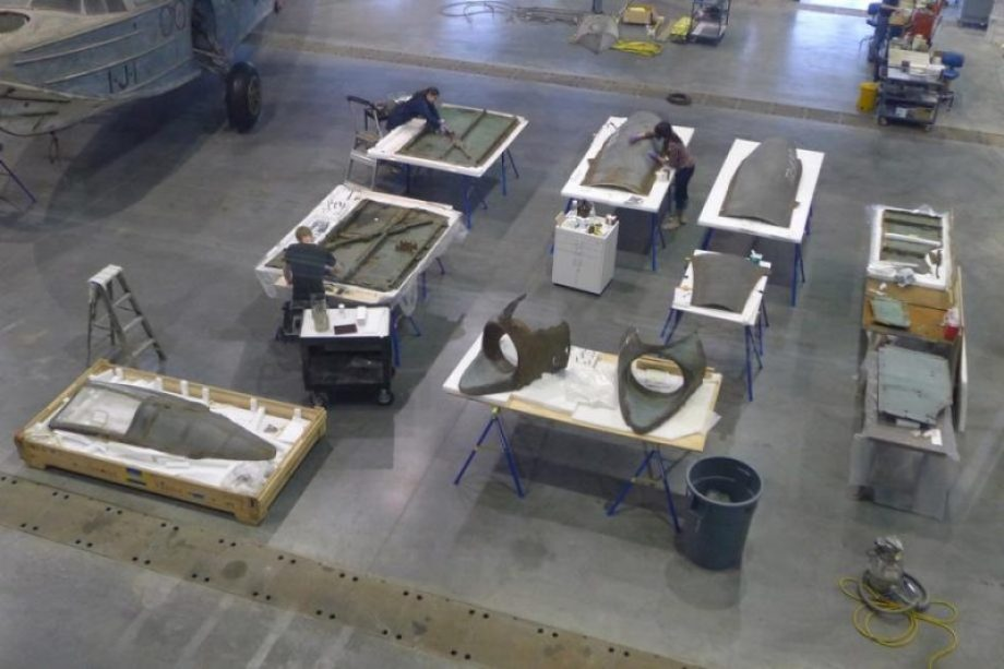 restoring-the-horten-229-v3-flying-wing-34