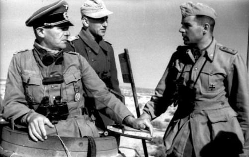 Nordafrika, deutsche Offiziere