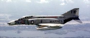 A McDonnell F-4B Phantom II