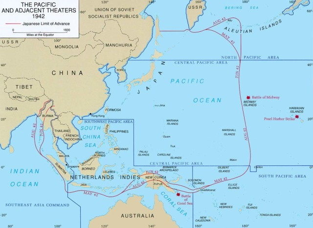The Pacific Theater in WWII