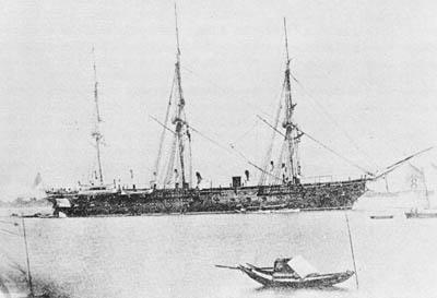 The USS Colorado in 1871 via commons.wikimedia.org