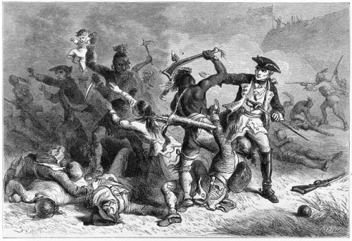 The early Native American wars were especially brutal and horrific. It would have been quite the hardening experience for Samuel Whittemore