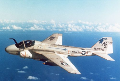 A-6E Intruder of Attack Squadron 52 (VA-52), c.1980.