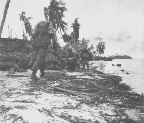 Marines working their way through Guam via commons.wikimedia.org