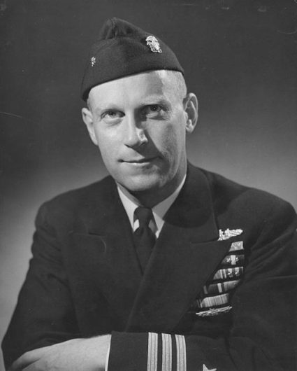 Commander Richard H. O'Kane.
