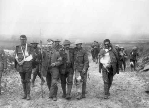 British casualties at the Somme